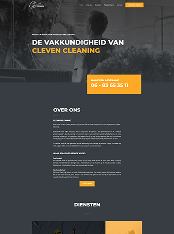 portfolio-cleven-cleaning-website